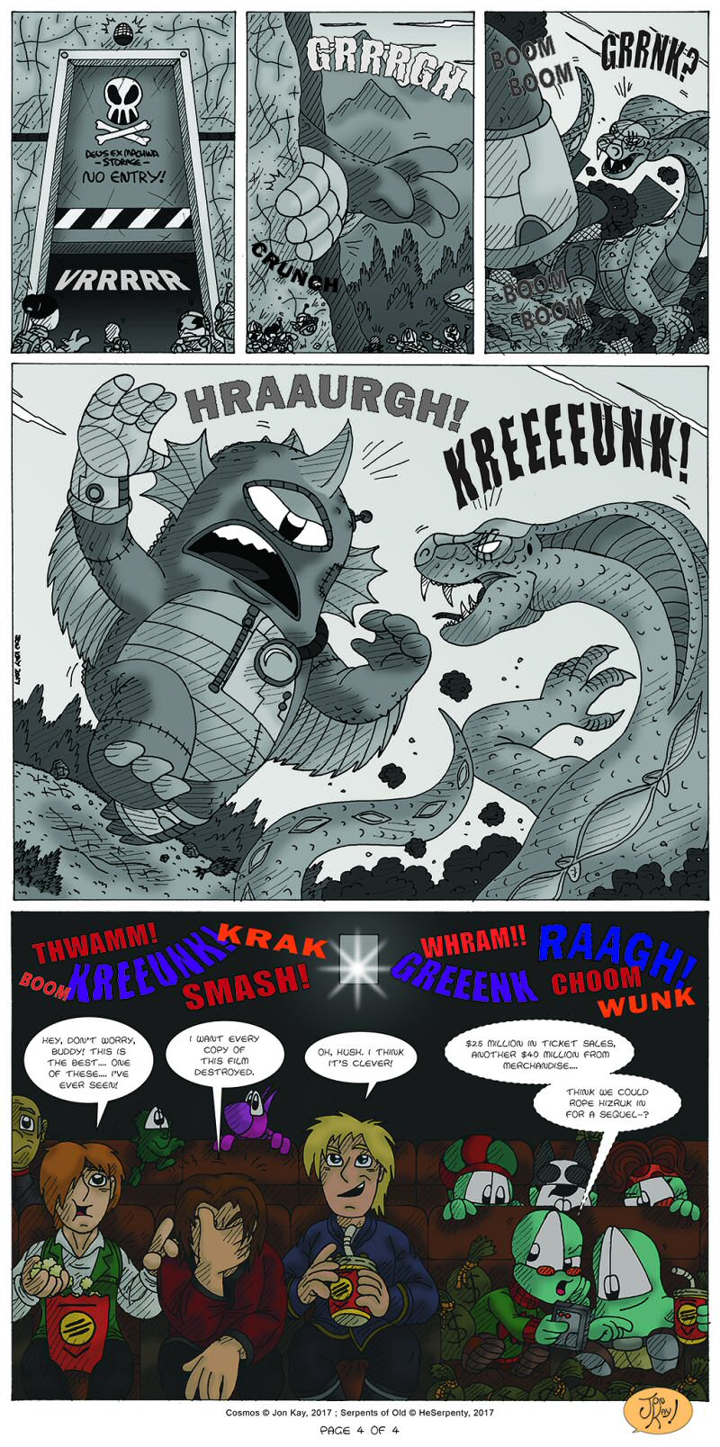 Serpents of Old Page 4 by  Cartoonist_at_Large