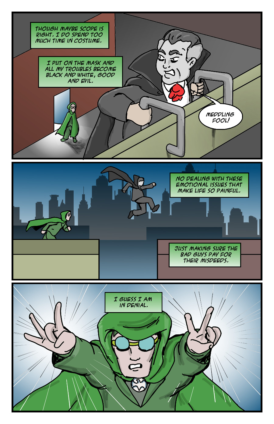 The Green Dove by Jay042 Page 4
