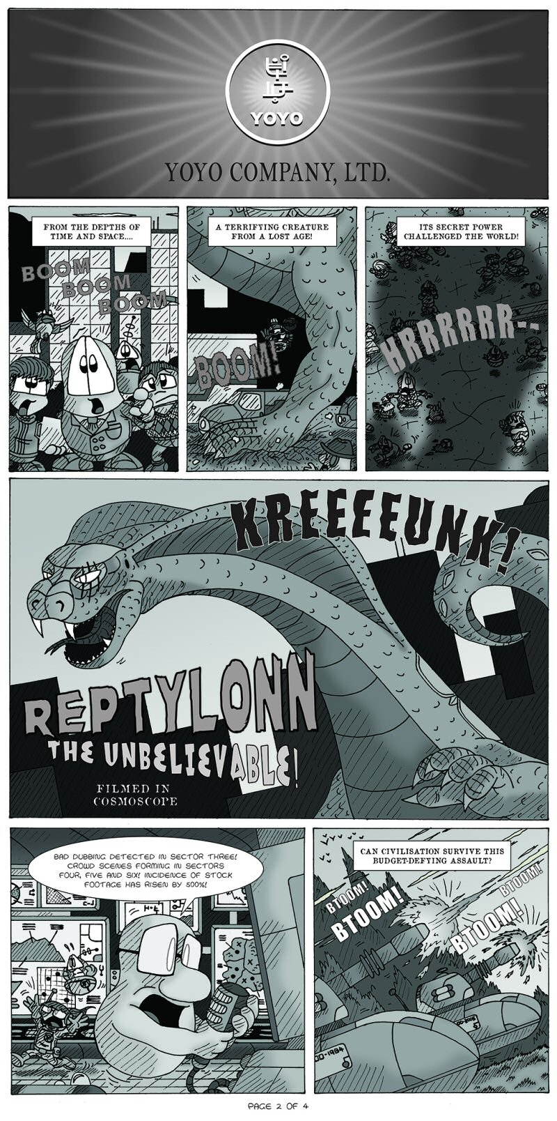 Serpents of Old Page 2 by  Cartoonist_at_Large
