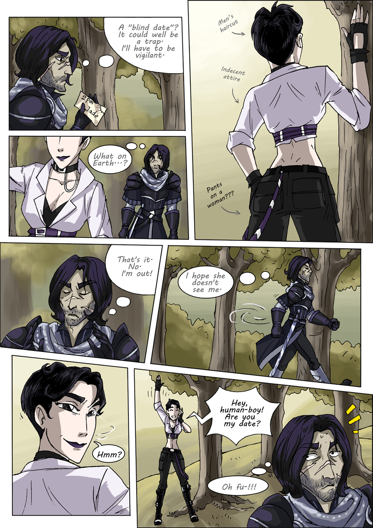 BAYARD and Jade, Page 1 by Eve Z.