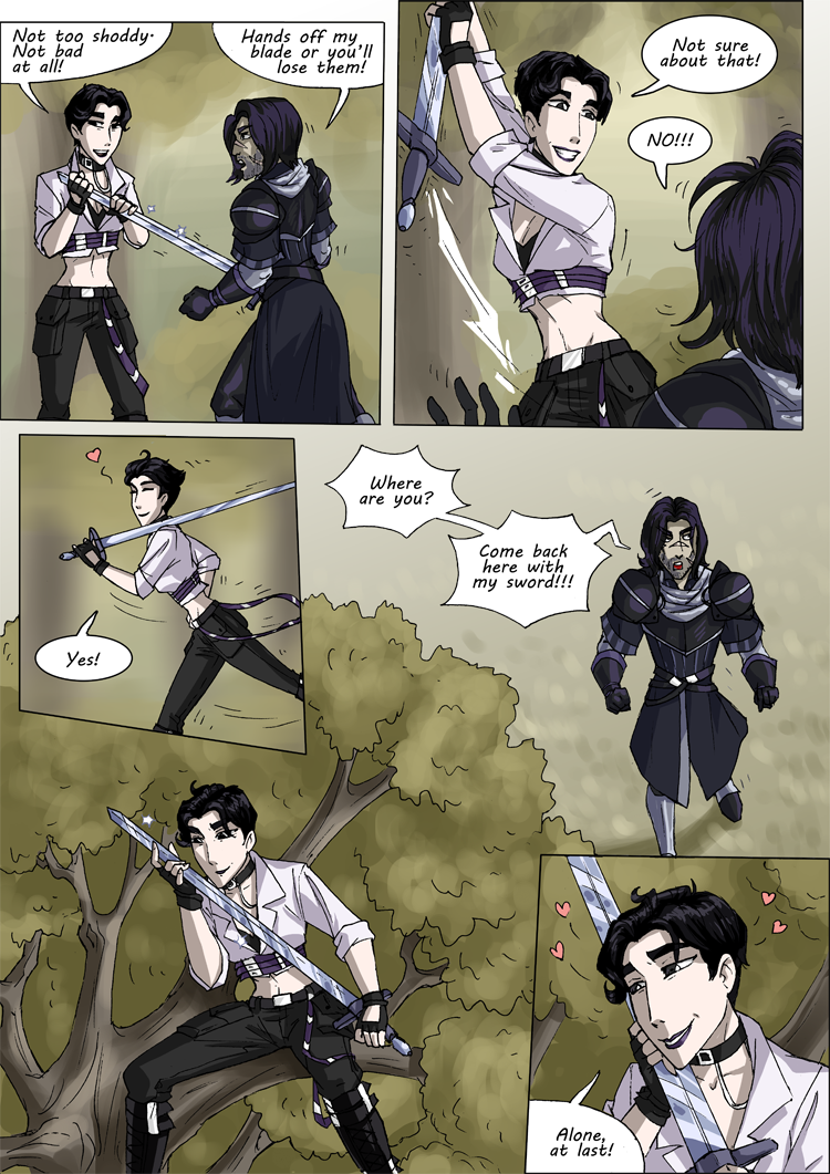 BAYARD and Jade, Page 3 by Eve Z.