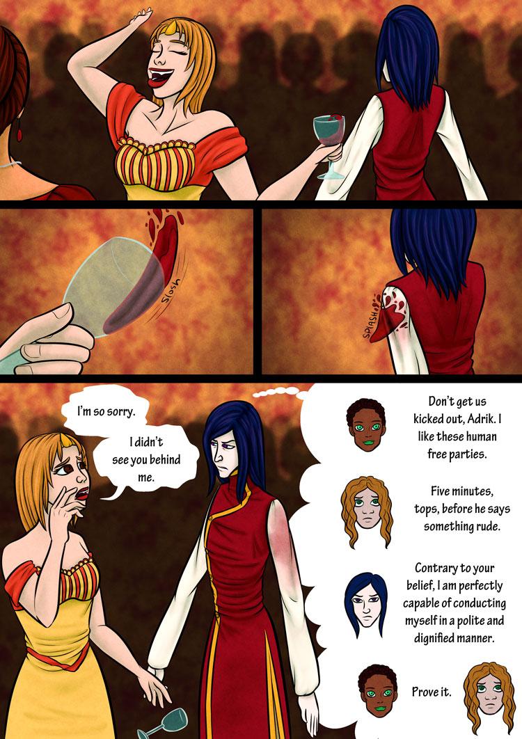 Serafine! Page 1